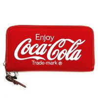 Coca-Cola/コカコーラ Coke スウェット財布 Red x White
