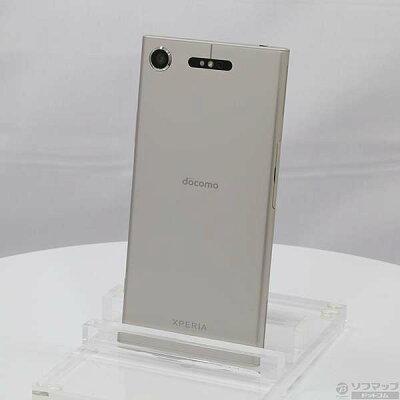 ソニーSO-01K S Xperia XZ1 ウォームシルバー NTTドコモ