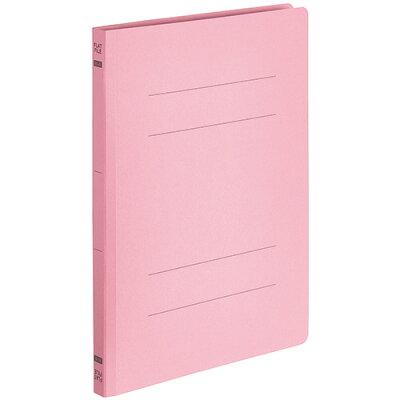 フラットファイルe エコノミーb5タテ  収容 背幅  ピンク