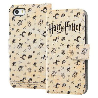 iPhone SE /5s/5 ハリーポッター 手帳型ケース マグネット ハリーポッター4
