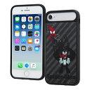 iPhone6/6s/7/8用 耐衝撃ケースキャトル パネル マーベル スパイダーマン 3 イングレム