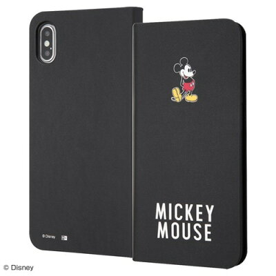 iPhone XS Max 手帳型アートケース マグネット スリム ミッキーマウス25(1コ入)