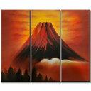 東京アートラボ 油彩風景画 3枚組 HJ04