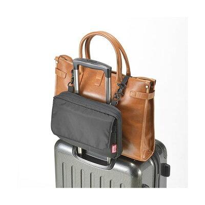 バッグとめるポーチ GW-3102-009 キャリーにベルトで荷物を固定できる2WAYポーチ go0a258