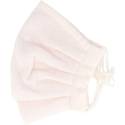 ふわふわマスク 今治産タオル 超敏感肌用 ゆったり大きめ ライトピンク(1枚入)