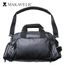 マキャベリック MAKAVELIC LUDUS STREAMLINE DUFFLE BAG 3WAYダッフル BLACK 3107-10401