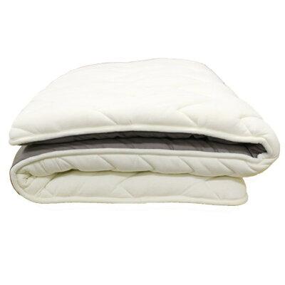 アモリール 羊毛布団 敷布団 セミダブル エア96 ウール100
