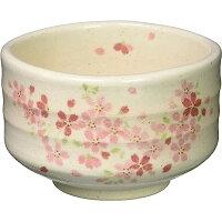桜紋茶碗 抹茶碗 美濃焼