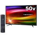 ワイルドカード neXXion 4K対応液晶テレビ FT-K5020B 50.0インチ