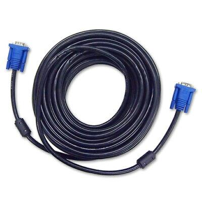 ウルマックス ディスプレイケーブル VGA ブラック 20m ミニD-Sub15ピン/オス UL-CAPC037