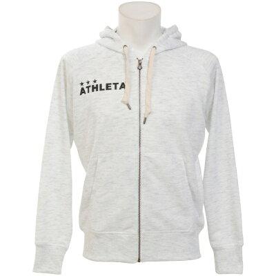 アスレタ カラー杢スウェットZIPパーカー 03312