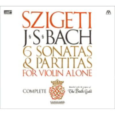Bach, Johann Sebastian バッハ / 無伴奏ヴァイオリンのためのソナタとパルティータ 全曲 シゲティ 2CD 輸入盤