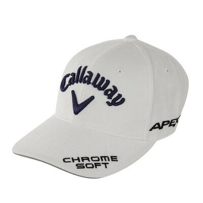 キャロウェイ Callaway ゴルフ キャップ ホワイト/ネイビー 241-9984505-031