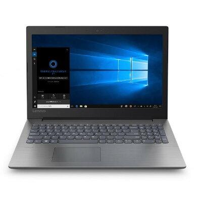 レノボジャパン Lenovo 81D600JAJP ノートパソコン ideapad 330 A9 オニキスブラック 15.6型 /AMD Aシリーズ /HDD:1TB /メモリ:8GB /2018年12月モデル