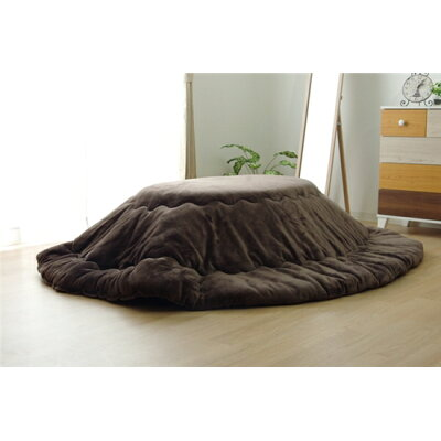 イケヒコ 17フランIT 楕円形/ブラウン/掛布団サイズ:185×225cm楕円