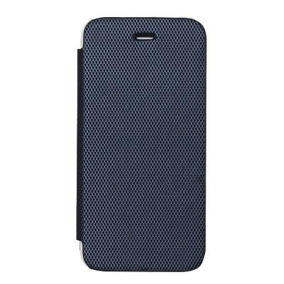 ゼヌス iPhone X 背面クリア手帳型ケース Metallic ネイビー Z11362iX(1コ入)