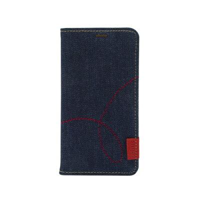 ROA iPhone XR 6.1インチ用 Denim Stitch Diary