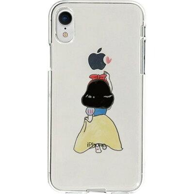 ディーパークス iPhone XR ソフトクリア ファンタジー 白雪姫 DS14816i61(1コ入)
