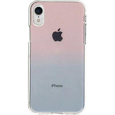 ディーパークス iPhone XR ソフトクリア グラデーション DS14830i61(1コ入)
