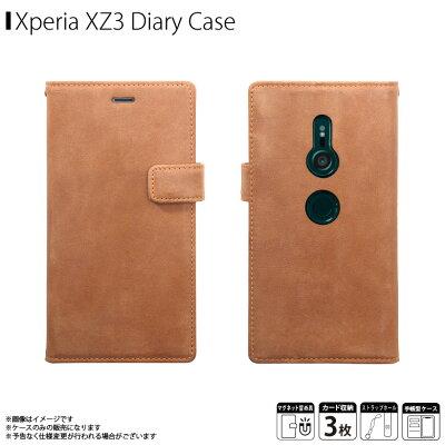 Xperia XZ3 手帳型ケース 本革 レザー ZENUS Vintage Diary SO01L スマホケース SOV39 手帳カバー XperiaXZ3ケース 801SO