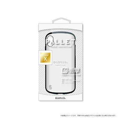 LEPLUS iPhoneX ケース LP-I8HVCWH