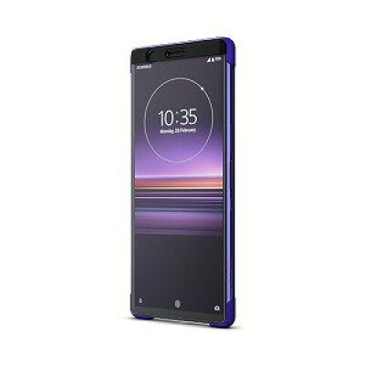 Xperia 1 Style Cover Touch/Purple