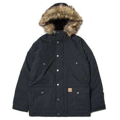 CARHARTT WIP Trapper Parka カーハート ワークインプログレス マウンテンジャケット BLACK ブラック