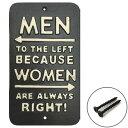 スロウワー SLOWER アイアンプレート MEN LEFT WOMEN RIGHT SLW053