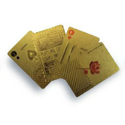 SLOWER PLAYING CARDS トランプカード GOLD SLW146