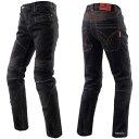 SCOYCO P043 KNIGHT ライディングジーンズ カラー:ブラック サイズ:2XL