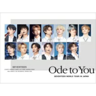 SEVENTEEN / ハイタッチ会エントリーカード付き SEVENTEEN WORLD TOUR 'ODE TO YOU' IN JAPAN 2DVD