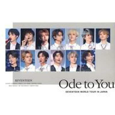 SEVENTEEN / ハイタッチ会エントリーカード付き SEVENTEEN WORLD TOUR 'ODE TO YOU' IN JAPAN 2Blu-ray