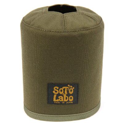 SOTO LABO ソトラボ Gas cartridge wear / OD 500 Khaki カーキ