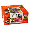 Plaisir キャノン用互換インク PLE-C381-6P 6色