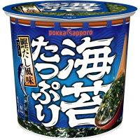 ポッカサッポロフード&ビバレッジ 海苔たっぷりすうぷカップ