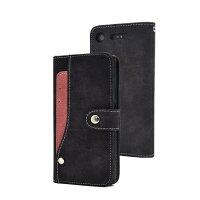 plata xperia xz  手帳型 スライド ポケット ソフト レザー カード カバー ブラック dso01k-97bk