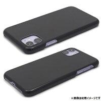 iPhone 11用 ハードブラックケース