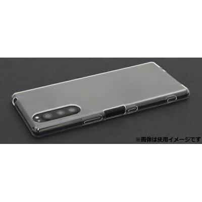 Xperia 5 SO-01M/SOV41/901SO マイクロドット ソフトクリアケース