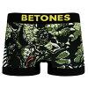 BETONES トリケラトプス 恐竜柄 ボクサーパンツ  ビトーンズ TRIPS TIP001-01 ブラック