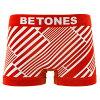 BETONES ビトーンズ ボクサーパンツ メンズ MINERAL MIN001 レッド03
