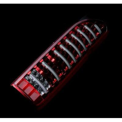 Valenti ヴァレンティ TT200ACE CR 2 ジュエルLEDテールランプ TRAD シーケンシャル トヨタ 200系 ハイエース/レジアスエース用 流れるウインカー&ハイフラッシュ制御抵抗内蔵 クリア/レッドクローム