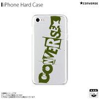 アイフォンケース iPhoneケース CONVERSE コンバース iPhone8 iPhone7 iPhone6s iPhone6 クリアケース mysterious khaki
