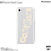 AB 0965 IP67 CREM iPhone8/7/6s/6対応 iPhoneケース CONVERSE コンバース クリアケース mysterious ivory
