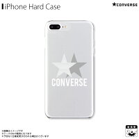 アイフォンケース iPhoneケース CONVERSE コンバース iPhone8Plus iPhone7Plus iPhone6sPlus iPhone6Plus クリアケース 2STAR GRAPHICS GRAY
