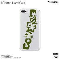 アイフォンケース iPhoneケース CONVERSE コンバース iPhone8Plus iPhone7Plus iPhone6sPlus iPhone6Plus クリアケース mysterious khaki