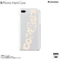 アイフォンケース iPhoneケース CONVERSE コンバース iPhone8Plus iPhone7Plus iPhone6sPlus iPhone6Plus クリアケース mysterious ivory