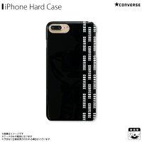 アイフォンケース iPhoneケース CONVERSE コンバース iPhone8Plus iPhone7Plus iPhone6sPlus iPhone6Plus ハードケース Pattern Black