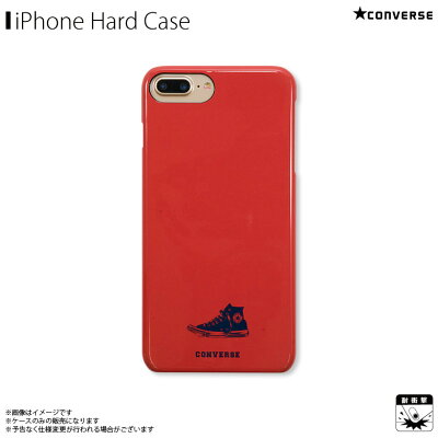 アイフォンケース iPhoneケース CONVERSE コンバース iPhone8Plus iPhone7Plus iPhone6sPlus iPhone6Plus ハードケース Have a good time red