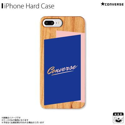 AB 0967 IP7P DKNV iPhone8Plus/7Plus/6sPlus/6Plus対応 iPhoneケース CONVERSE コンバース ウッドケース SHADOW