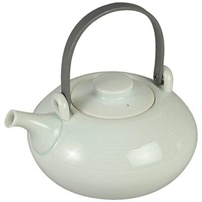長谷川陶磁器工房 平土瓶 千筋 グレー T1001G